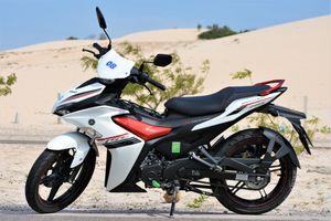 Yamaha Exciter 155 có phụ kiện độ chính hãng