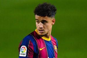 Coutinho trượt dài ở Barca