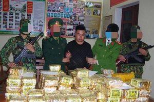 Triệt phá thành công vụ vận chuyển ma túy 'cực lớn' tại tỉnh Nghệ An