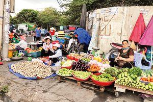 Mạnh tay dẹp chợ tự phát