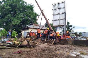 Điện chia buồn về lũ lụt và lở đất ở Indonesia và Timor Leste