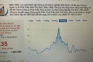 Cổ phiếu TDH bị đưa vào diện cảnh báo