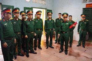 Bộ tư lệnh Quân khu 4 kiểm tra công tác hậu cần tại Sư đoàn 968