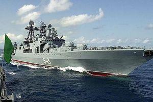 Khinh hạm Nga lần đầu thử tên lửa Kalibr trên biển Nhật Bản