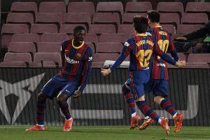 Thắng nhọc Valladolid, Barca áp sát ngôi đầu La Liga