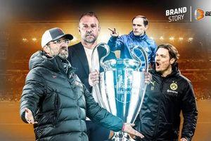 Champions League: 'Sân chơi riêng' của các HLV người Đức?