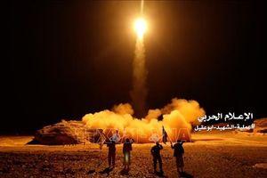 Liên quân Arab phá hủy kho tên lửa của lực lượng Houthi