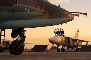 Ồ ạt nã trăm cuộc không kích vào sa mạc, Nga dìm IS trong 'biển lửa' ở Syria