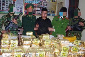 Đánh sập đường dây ma túy xuyên quốc gia 'siêu khủng' thu giữ gần 350kg ma túy