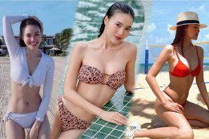 Tuyển tập bikini hack dáng cực cao tay của Ninh Dương Lan Ngọc, fan tha hồ 'no mắt'