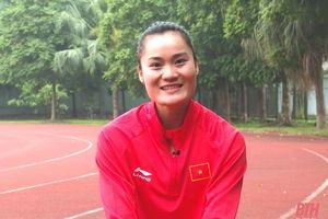 Quách Thị Lan thử sức tại Giải Marathon quốc tế TP Hồ Chí Minh Techcombank 2021