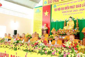 Bình Dương: Đại hội đại biểu Phật giáo thị xã Tân Uyên nhiệm kỳ IX (2021-2026)