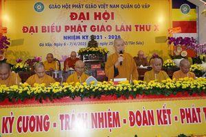 Phật giáo quận Gò Vấp sẵn sàng cho đại hội chính thức vào sáng mai, 7-4