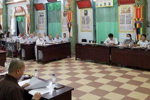 Phật giáo quận 1 triển khai kế hoạch, chính thức ấn định thời gian tổ chức đại hội