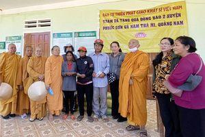 Ban Từ thiện Phật giáo Hệ phái Khất sĩ tặng 1.400 phần quà