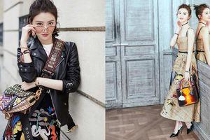 Phong cách thời trang ngày càng thăng hạng của 'mỹ nhân sườn xám' Cảnh Điềm