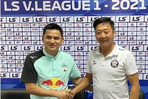 HLV Kiatisak 'cầu hòa' ở cuộc đấu trí HLV Lê Huỳnh Đức