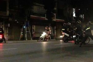 Chặn đứng đoàn 'trẻ trâu' tổ chức đua xe trái phép trong đêm