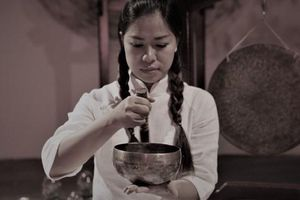 Nghệ sĩ Karma Hương: Vào chùa để rèn tâm