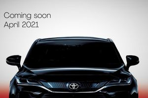 Toyota Venza 2021 sắp ra mắt tại Malaysia