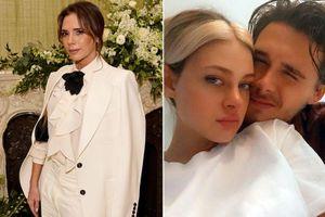 Victoria Beckham lo ngại con trai sớm chia tay hôn thê