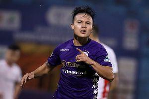 CLB Hà Nội vs CLB Viettel: Gánh nặng cho Quang Hải
