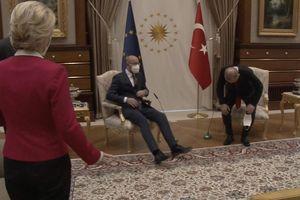 Nữ lãnh đạo EU bị tổng thống Thổ Nhĩ Kỳ phân biệt đối xử?