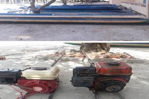 Hậu Giang: Bắt giữ hai đối tượng có vũ khí, thực hiện 16 vụ trộm