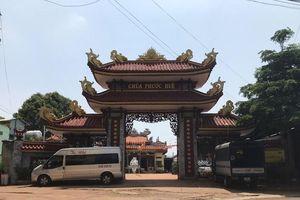 Bình Phước: Bé sơ sinh bị mẹ bỏ trước cổng chùa