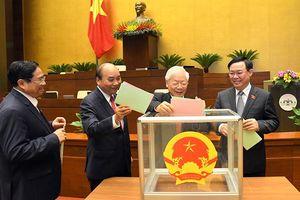 Quốc hội bầu Phó Chủ tịch nước và một số Ủy viên Ủy ban Thường vụ Quốc hội