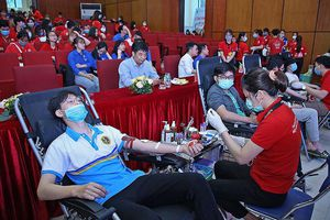 1.000 bạn trẻ hiến máu cứu người