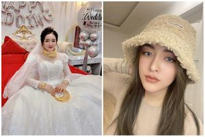 Lộ danh tính nàng dâu đeo đầy vàng được mẹ cho tiền du lịch