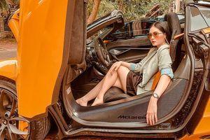 McLaren 720S Spider hơn 23 tỷ của Đoàn Di Băng 'thay áo' mới