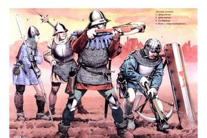 Sức mạnh vô đối của lính bắn nỏ Genoa thời Trung cổ