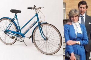 'Soi' chiếc xe đạp màu xanh huyền thoại gắn liền tuổi trẻ Công nương Diana