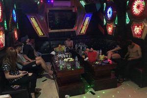 Bắt quả tang 22 đối tượng sử dụng ma túy trong quán karaoke ở Hải Phòng