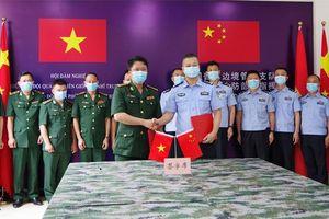 Hội đàm giữa Bộ Chỉ huy BĐBP Điện Biên và Chi đội quản lý biên giới Phổ Nhĩ (Trung Quốc)