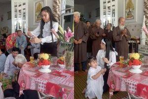 Linh Lan cùng con gái tổ chức lễ 100 ngày mất của Vân Quang Long