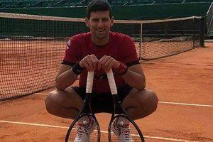Djokovic trở lại tập luyện tại Monte Carlo