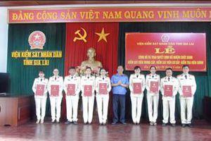 VKSND tỉnh Gia Lai trao quyết định bổ nhiệm các chức danh Kiểm sát viên và Kiểm tra viên