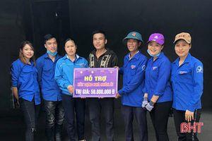Tuổi trẻ Hương Khê kêu gọi 350 triệu đồng xây dựng, sửa chữa nhà nhân ái