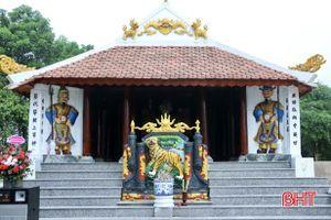 Khánh thành công trình tôn tạo nhà thờ Lê Khắc Phục ở Vũ Quang