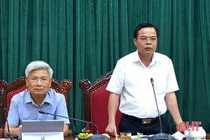 Thị xã Hồng Lĩnh tập trung vào các mũi đột phá, phát huy hiệu quả các dự án trên địa bàn