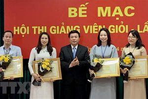 Hội thi giảng viên giỏi cấp Học viện Chính trị quốc gia Hồ Chí Minh
