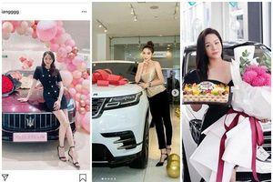 Đọ xế hộp hạng sang của hàng loạt 'mỹ nhân' Việt