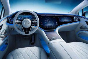 Chiêm ngưỡng nội thất siêu sang trang bị công nghệ hiện đại của Mercedes-Benz EQS