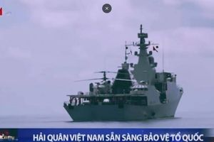 Hải quân Việt Nam diễn tập ở Quần đảo Trường Sa