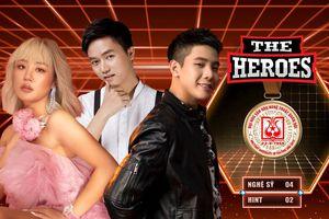 The Heroes tung gợi ý đặc biệt: Fan dậy sóng gọi tên Quân A.P - Văn Mai Hương - Bùi Công Nam