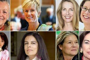 Năm 2021, nữ tỷ phú thế giới tăng hơn 36%