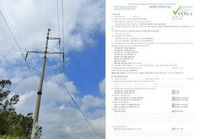 Ngành điện Quảng Bình: Hiệu quả từ phần mềm cấp phiếu công tác điện tử